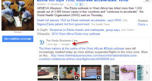 Google plus posts in Google News
